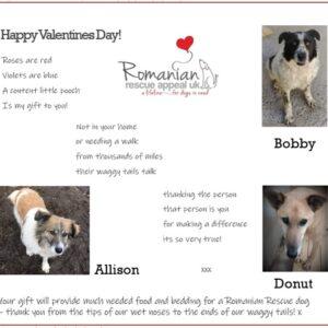 Valentine's Day Gift Card 2021